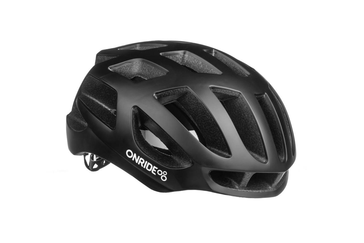 Шолом велосипедний ONRIDE Gate L Black
