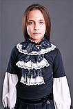 Красивая школьная блузка тм Моне р-р 122, фото 3