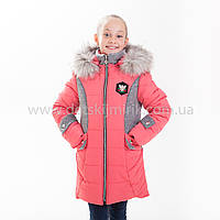 """Зимняя куртка для девочки """"Жанна """", фото 1"""