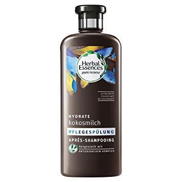 Ополоскувач для волосся Herbal Essences bio:renew  Зволоження-Кокосове Молочко 360мл.
