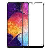 Стекло защитное для телефона Samsung M10 цвет черный Full Glue