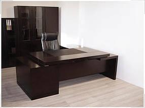 Стол руководителя Grasp Венге GRS-230 (Диал ТМ)
