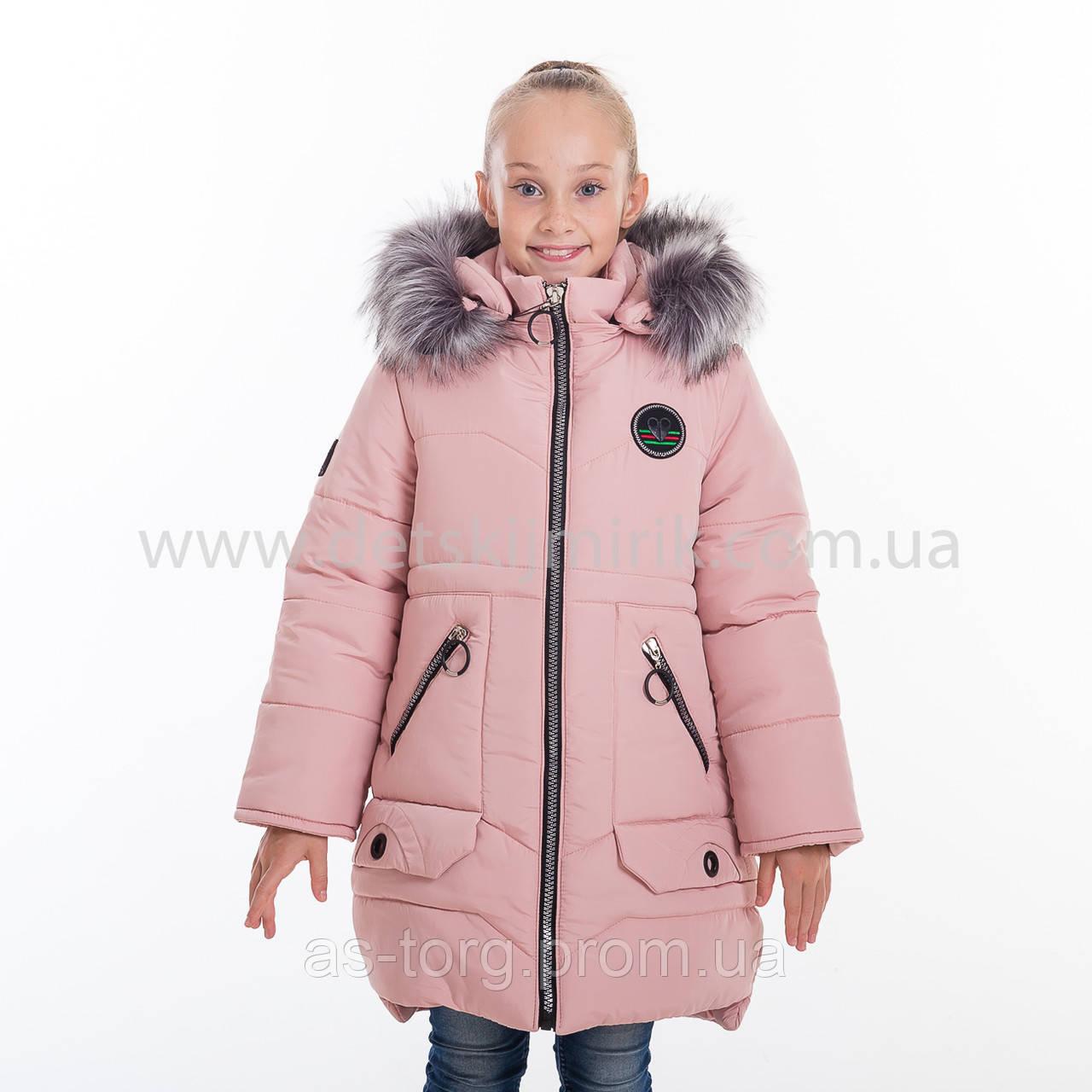 "Зимняя куртка для девочки "" Анна"", Зима 2019 года"