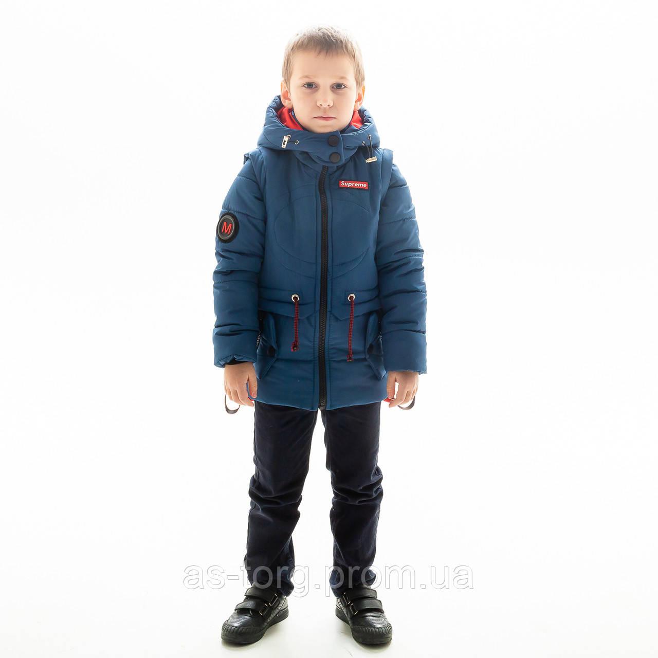 """Куртка-жилет для мальчика """"Томас"""""""