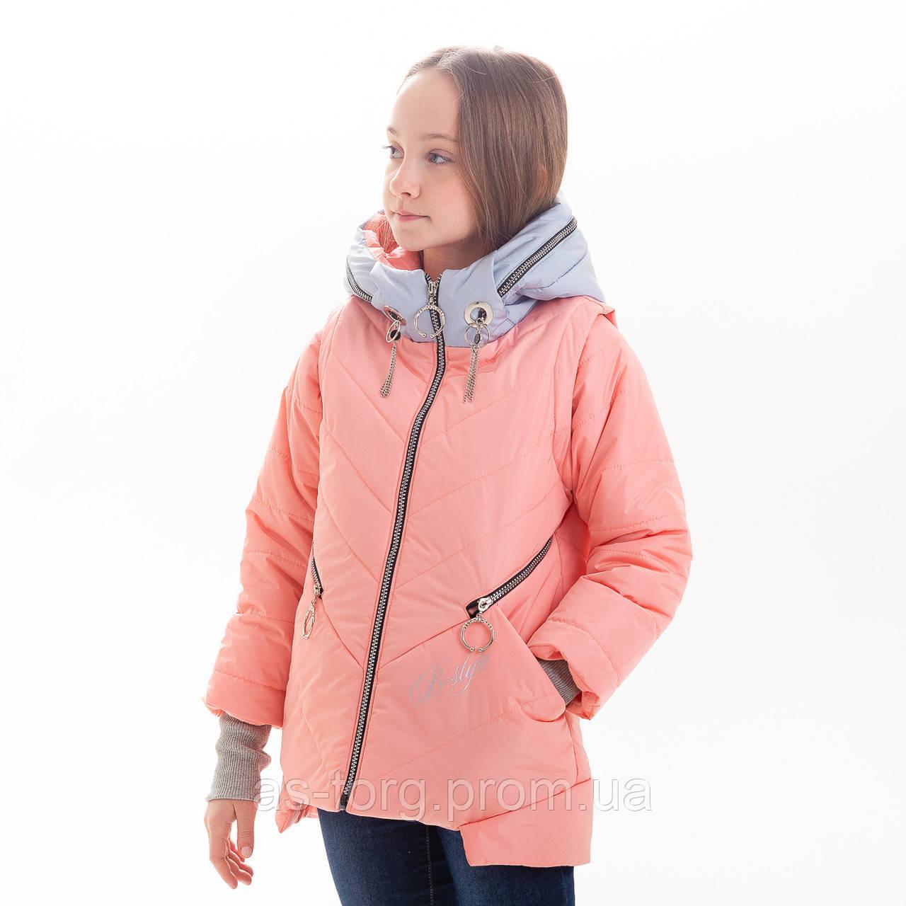 Куртка демисезонная для девочки «Баластиль»