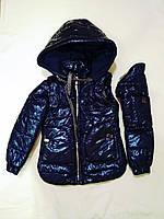 Куртка-жилет для девочки «Алика» 32,34р, фото 1