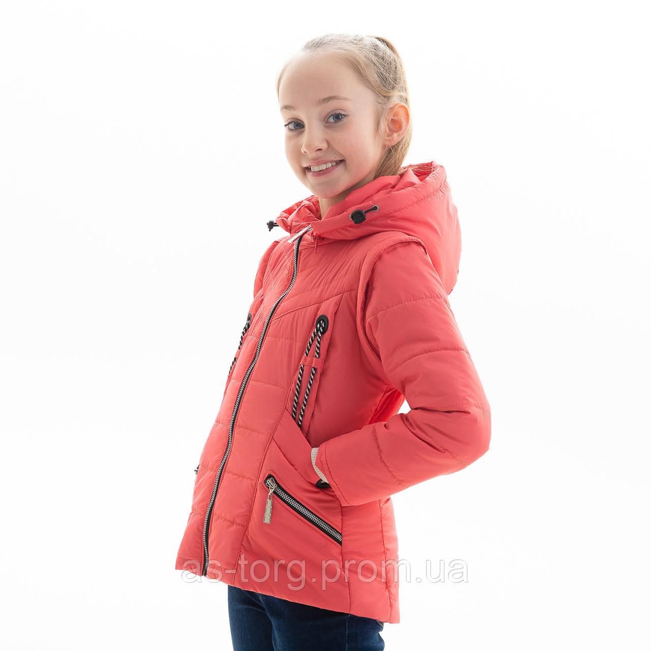 Куртка-жилет для девочки «Ульяна»