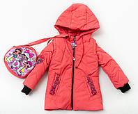 Куртка-жилет  для девочки «Лоли»+сумка, фото 1