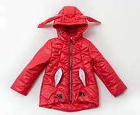 Куртка демисезонная  для малышки «Зайка», фото 1