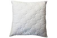 Подушка стеганая, ткань микрофибра, наполнитель холлофайбер, 60х60 см., ХМ01