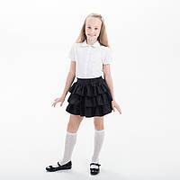 """Юбка для девочки для школы  """"Рюша"""""""