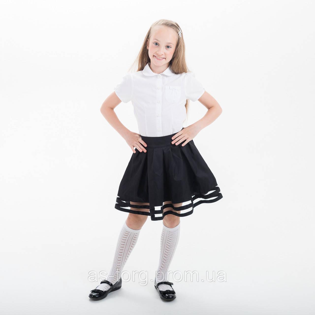 "Юбка для девочки для школы  ""Санта"""