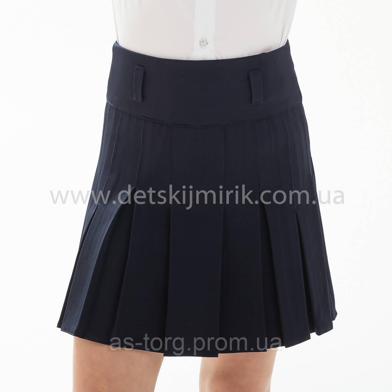 """Школьная юбка черная """"Римма"""""""