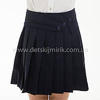 """Школьная юбка синяя """"Зоя"""", фото 1"""