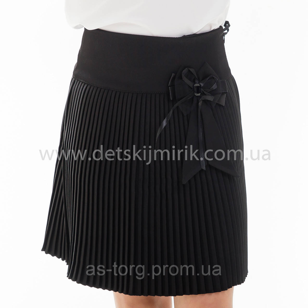 """Школьная юбка черная """"Лана"""""""