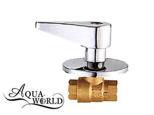 Кран шаровый подштукатурный Aqua-World ВКр301