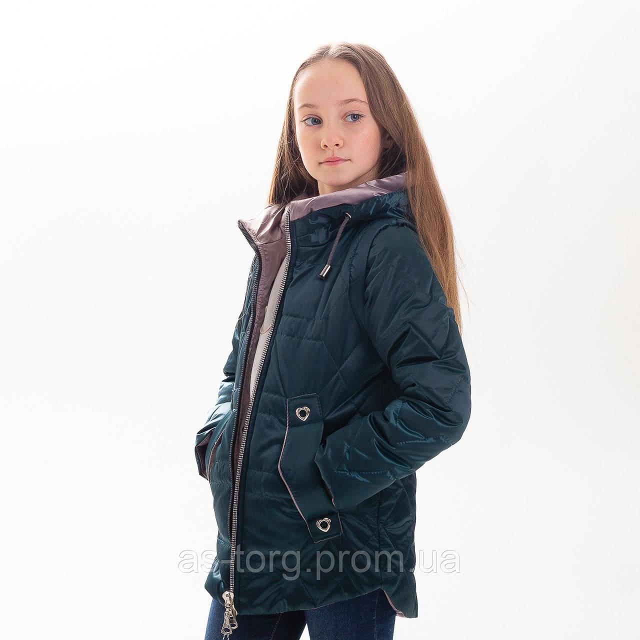 Куртка-жилет для девочки «Фани»