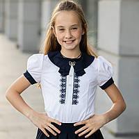"""Школьная блузка белая """"Б-1"""", фото 1"""