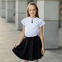 """Школьная блузка белая """"Б-13"""", фото 1"""