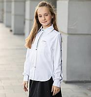 """Блузка школьная для девочки длинный рукав, нарядная """"Мили"""", фото 1"""