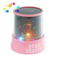 Ночной светильник с эффектом звёздного неба и меняющимися цветами