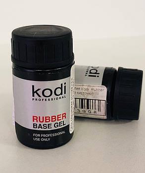 Гель каучуковая основа Kodi Rubber Base gel, 14 мл (Без кисточки)