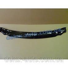 Мухобойка на капот Jeep Grand Cherokee WK 2005–2010 Дефлектор капота на Джип Гранд Чероки ВК 2005-2010
