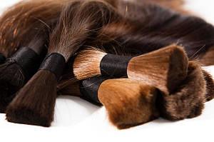 Срезы натуральных волос