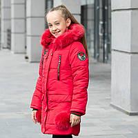 """Зимняя куртка для девочки """"Роза"""""""