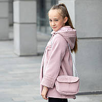 Пальто кашемир - букле +сумка для девочки «Мини»