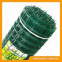"""Пластиковые решетки для сада """"Клевер"""" Украина 1/20м ячейка 90х90"""