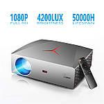 Проектор мультимедийный Full HD Wi-Fi стерео звук Vivibright Wi-light F40 домашний кинотеатр кинопроектор, фото 5