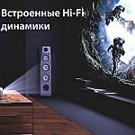 Проектор мультимедийный Full HD Wi-Fi стерео звук Vivibright Wi-light F40 домашний кинотеатр кинопроектор, фото 8
