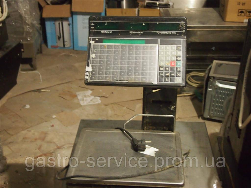 Весы электронные Масса к ВП-15Т.2 с печатью этикеток - ТОВ Гастро Групп в Киеве