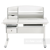 Детский стол-трансформер для дома FunDesk Sognare Grey, фото 3