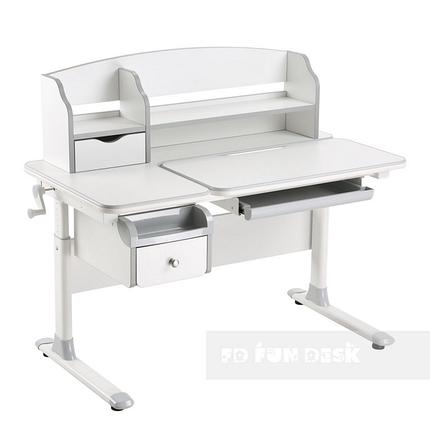 Детский стол-трансформер для дома FunDesk Sognare Grey, фото 2