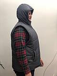 Двостороння брендовий куртка-безрукавка від Decor Design, фото 2