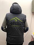 Двостороння брендовий куртка-безрукавка від Decor Design, фото 5