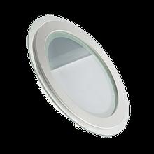 Светодиодный встраиваемый LED светильник (СТЕКЛО) потолочный, 12Вт, 850Лм