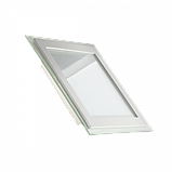Світлодіодний вбудований LED світильник (СКЛО) стельовий, 12Вт, 850Лм, фото 2