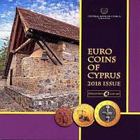 Кипр 2018. Официальный годовой набор монет