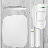 Комплект беспроводной GSM сигнализации Ajax StarterKit (белый, черный), фото 6