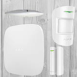 Комплект бездротової GSM сигналізації Ajax StarterKit (білий, чорний), фото 6