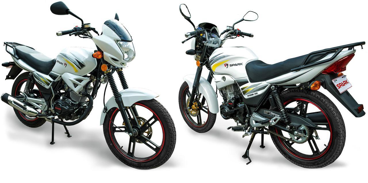 Мотоцикл SPARK SP200R-25i, 200  куб.см, АКЦИОННАЯ ЦЕНА! двухместный дорожный