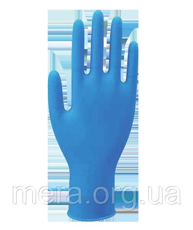 Перчатки нитриловые неопудренные, L