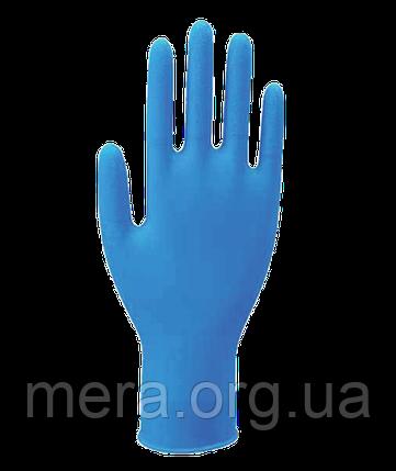 Перчатки нитриловые неопудренные, L, фото 2