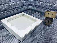 *10 шт* / Коробка для пряников / 200х200х30 мм / Белая / окно-обычн, фото 1