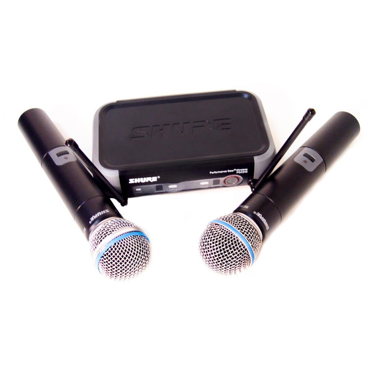 Радиосистема SH PGX242, база, 2 микрофона