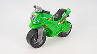 Каталка-толокар - Беговел детский. Мотоцикл ORION 501-Z. Зеленый