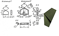 Пластина твердосплавная напайная 14732 ВК8 33.5мм